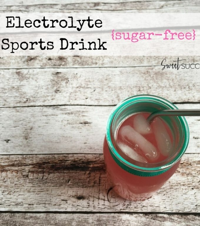 {Natural} DIY Electrolyte Sports Drink