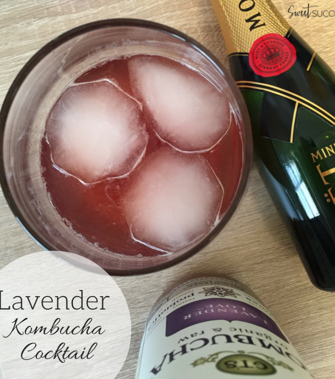 Lavender Kombucha Cocktail