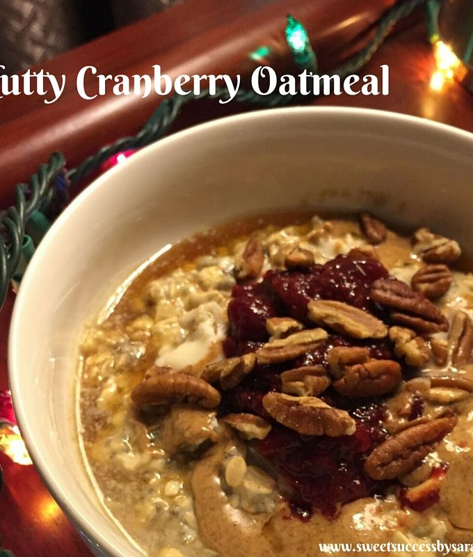 Nutty Cranberry Oatmeal