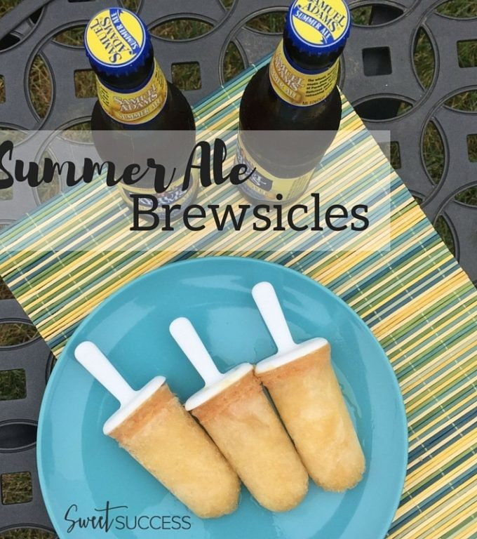 Refreshing Summer Brewsicles