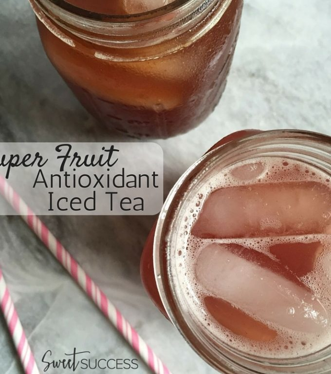 Super Fruit Antioxidant Iced Tea
