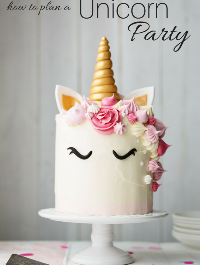Throw a Magical Unicorn Party {for adults}