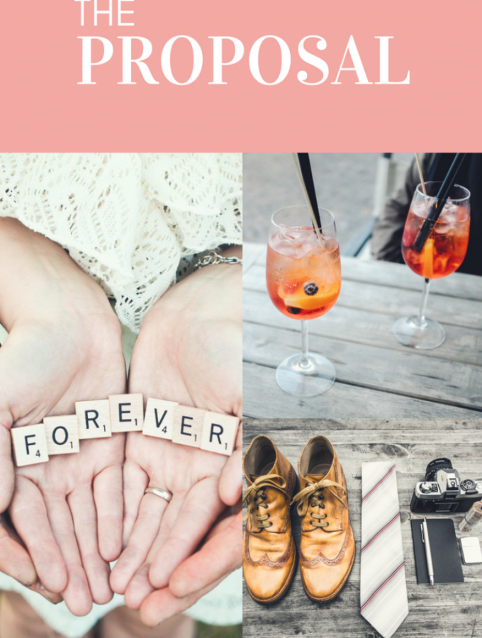 The Proposal + Our Engagement Celebration