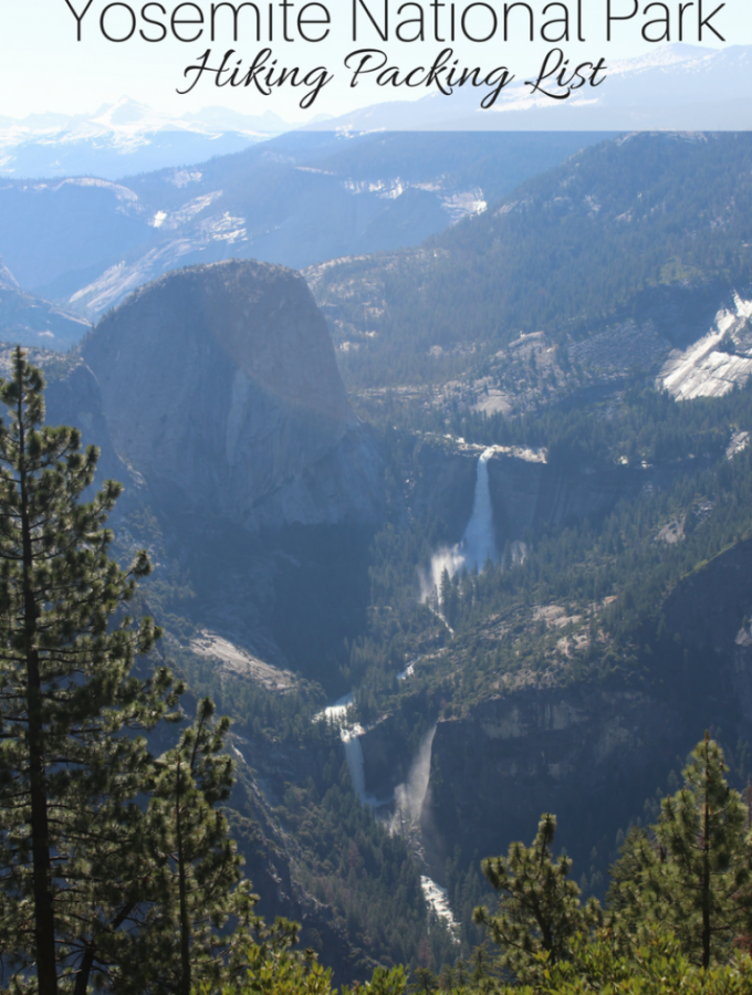 Yosemite National Park Hiking Packing List
